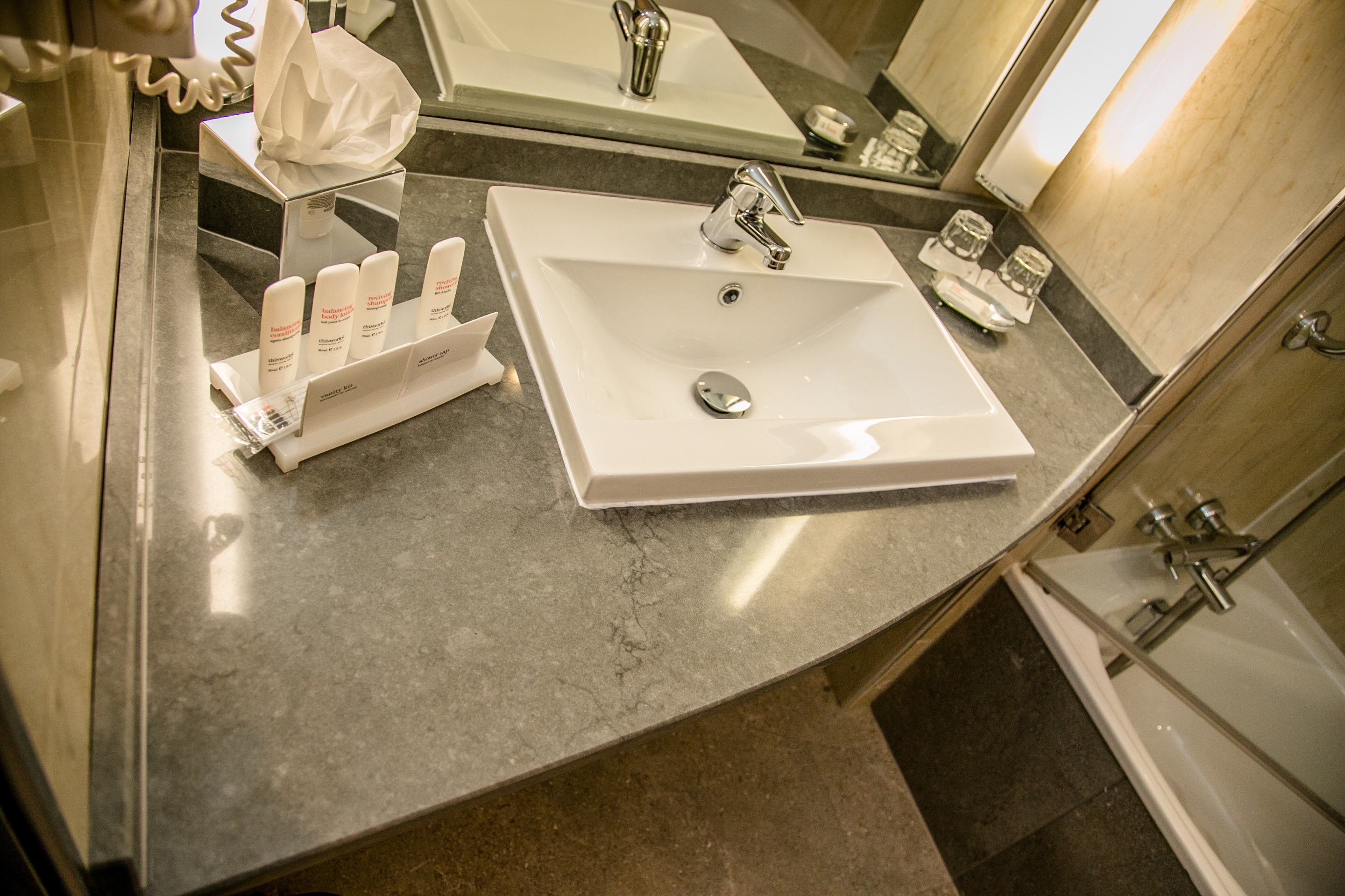 marble vanity bathrooms donegal