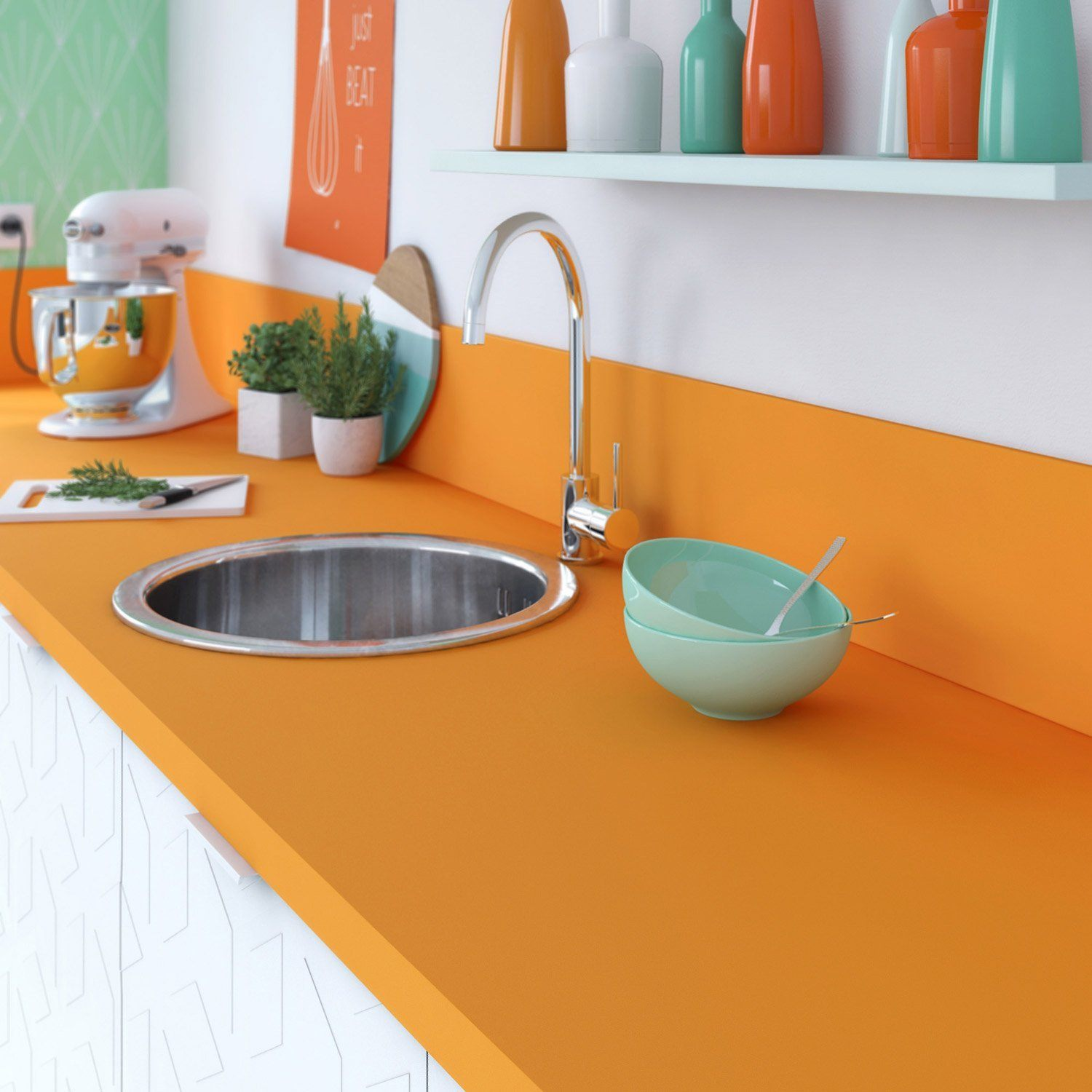 solid surface countertop 2