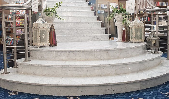 donegal marble staircase