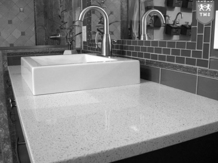 granite bathroom worktop